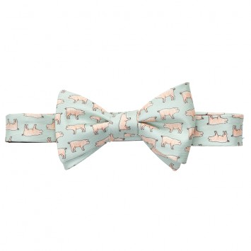 Pig Picking Bow - Mint